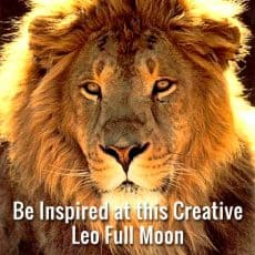 Tune into Your Inspiration at this Creative Leo Full Moon