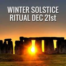 Winter Solstice 2016 Ritual: Bringing in the Light