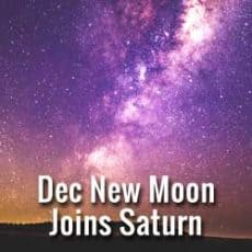 December New Moon in Sagittarius