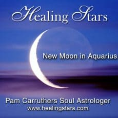Venus meets Pluto at the Aquarius New Moon Jan 30th 2014